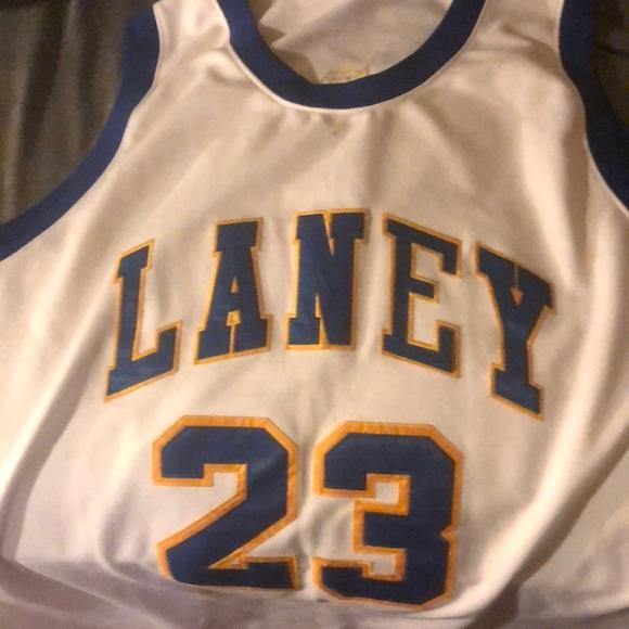 best sneakers 0cbb5 89240 Michael Jordan Laney High School Jersey size 54